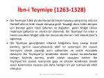 bn i teymiye 1263 1328