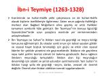 bn i teymiye 1263 13286
