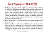 bn i teymiye 1263 13288