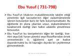 ebu yusuf 731 7982