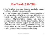 ebu yusuf 731 7983