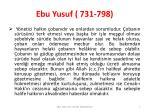 ebu yusuf 731 7985