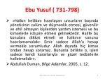 ebu yusuf 731 7986