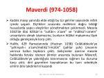 maverdi 974 10581