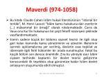 maverdi 974 10583