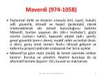 maverdi 974 10586
