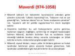 maverdi 974 10587