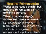 negative reinforcement1