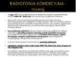 radiofonia komercyjna rozw j