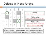 defects in nano arrays2