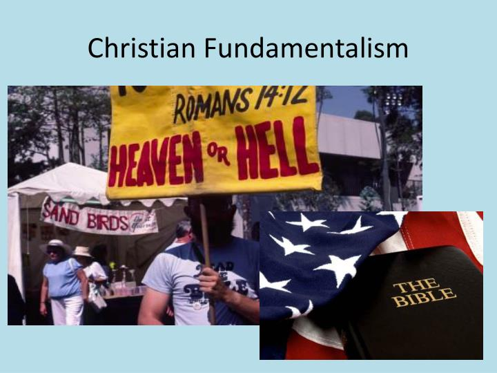 christian fundamentalism n.