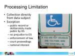 processing limitation1