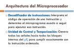 arquitectura del microprocesador2