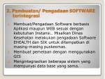 2 pembuatan pengadaan software terintegrasi