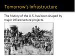 tomorrow s infrastructure1