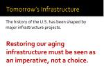 tomorrow s infrastructure3