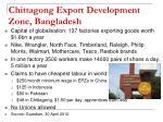 chittagong export development zone bangladesh