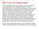 the case for imperialism