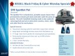 bissell black friday cyber monday specials