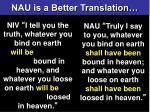 a better translation