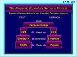 the preparing expository sermons process5