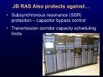 jb ras also protects against