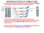 introduction of airbus 3801