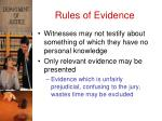 rules of evidence3
