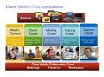 cisco webex core applications