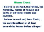 nicene creed