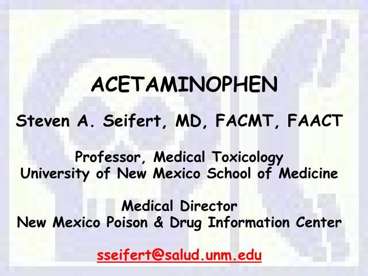 acetaminophen n.