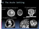 at the acute setting2
