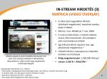 in stream hirdet s 3 matrica video overlay