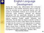 english language development3