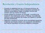 revoluci n y guerra independencia1