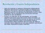 revoluci n y guerra independencia2