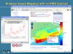 browser based mapping with ncwms godiva2