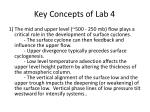 key concepts of lab 4