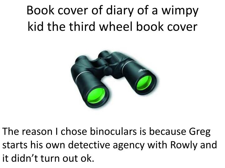 book cover of diary of a wimpy kid the third wheel book cover n.