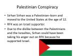 palestinian conspiracy