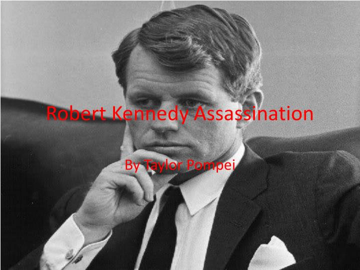 robert kennedy assassination n.