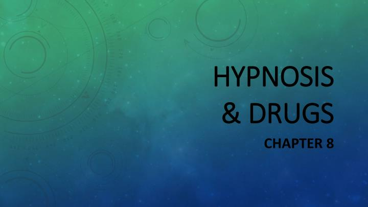 hypnosis drugs n.