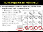 rom programa por m scara 2