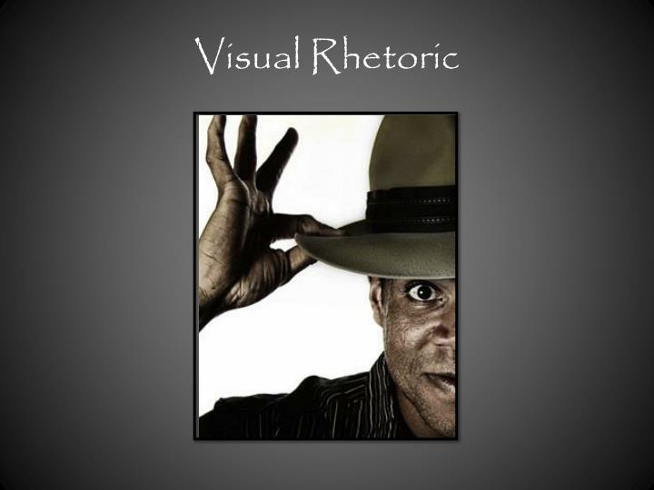 visual rhetoric n.