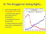 iv the struggle for voting rights2