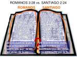 romanos 3 28 vs santiago 2 24