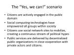 the yes we can scenario1