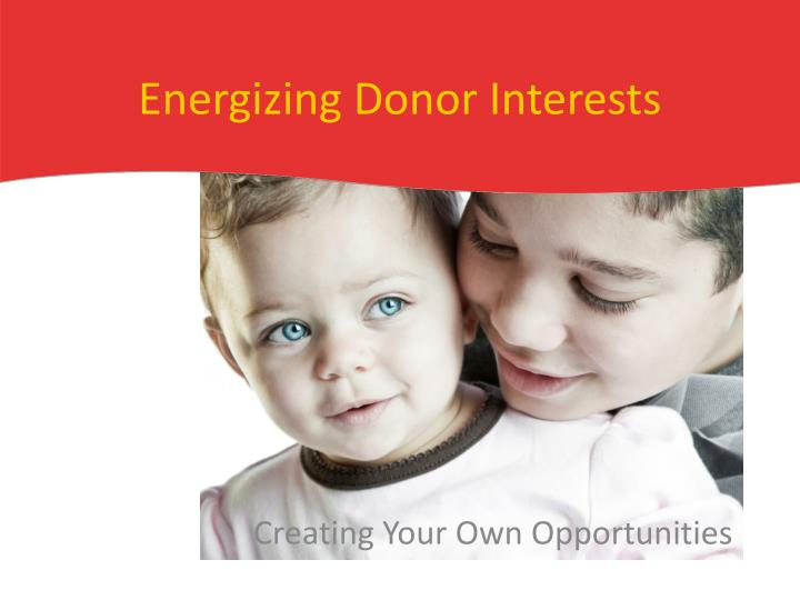 energizing donor interests n.