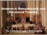 session 4 renaissance and religious turmoil
