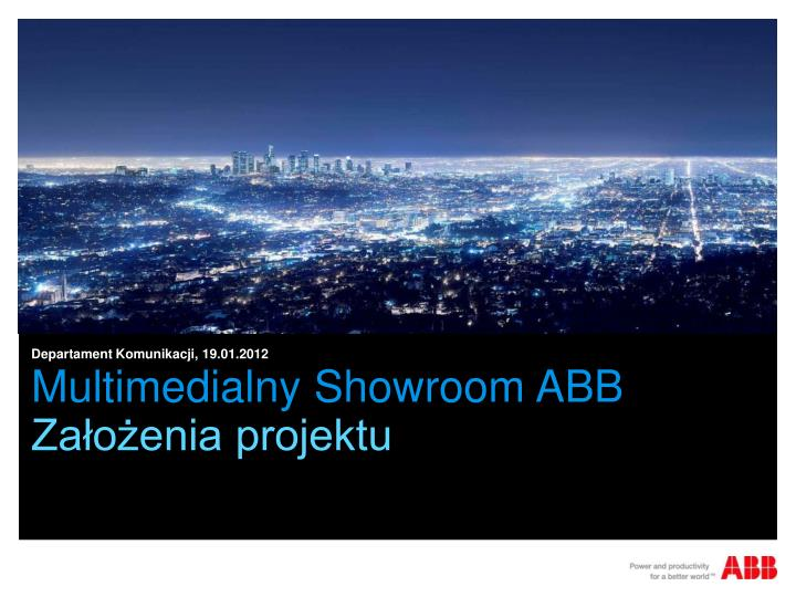 multimedialny showroom abb n.